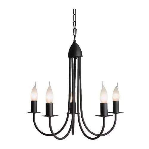 Подвесной светильник IKEA MOLNIG черный 700.981.97
