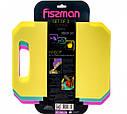 Набор из 3-х 28x20см гибких пластиковых разделочных досок Fissman, фото 2