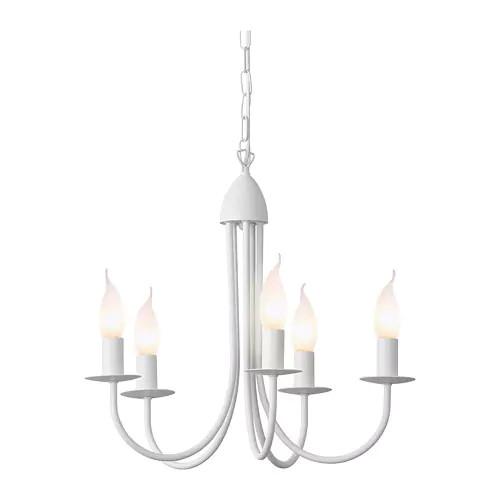 Подвесной светильник IKEA MOLNIG белый 903.873.23