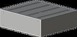 Корпус металевий з алюмінієвою панеллю MB-26 (Ш430 Г385 В132) чорний, RAL9005(Black textured), фото 5