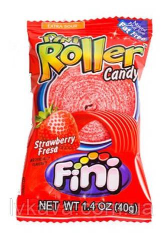 Желейные конфеты Fini Roller клубника   , 20 гр