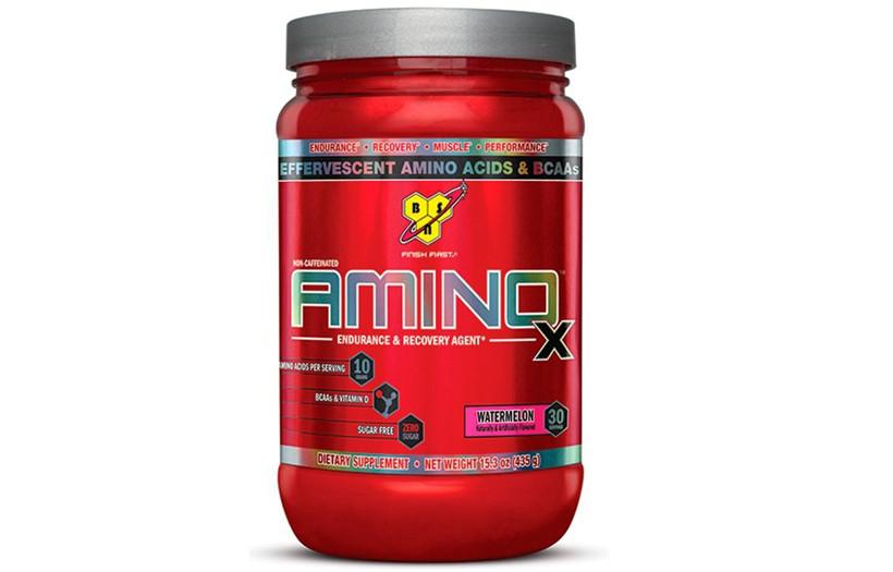 Амінокислоти BSN Amino X - 435 g. (ПОЛУНИЦЯ)