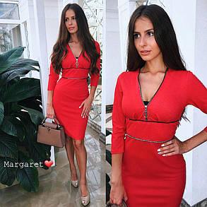 Шикарное стильное платье, размеры S M, фото 2