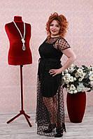 Платье Майорка двойка большого размера 48-94 батал