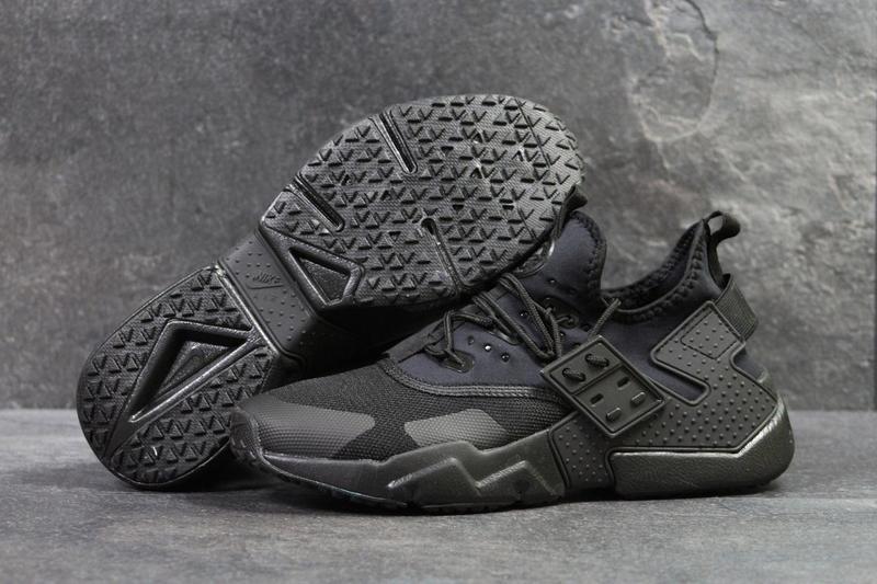c596f3b9 Мужские кроссовки в стиле Nike Huarache, черного цвета/кроссовки мужские  Найк Хуарачи, сетка