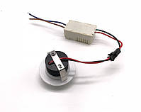 Светильник настенный  LD-3W-SD/3  3W  220V  6000K  белый  IP20, фото 4