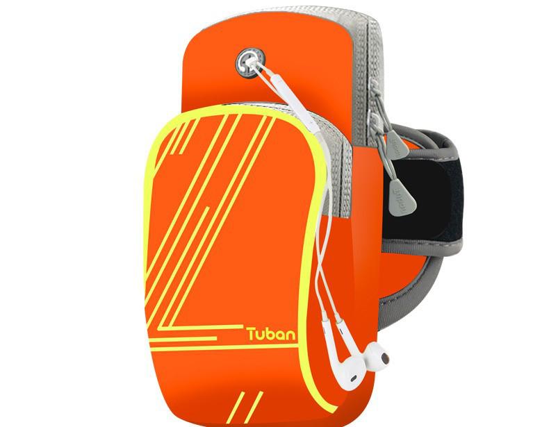 d28696782a15 Спортивная сумка на руку для смартфона Tuban Sport Orange, цена 300 грн.,  купить в Киеве — Prom.ua (ID#97212306)