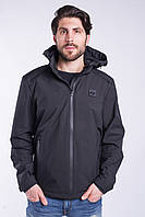 Ветровка куртка мужская черная Avecs AV-70244 Black Размеры 46 48 50