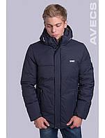 Куртка чоловіча зимова чорна Avecs AV-70199 40H Розміри 54 (52)