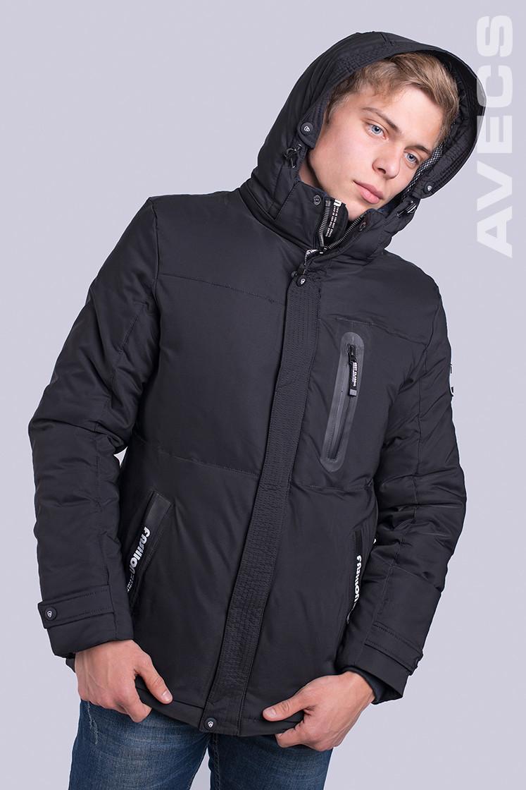 Куртка мужская зимняя Avecs AV-70189 40H Размеры 54 56 (маломер на 1 размер)