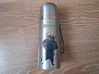 Детский термос для напитков и чая с клапаном ZooTopiA  350мл