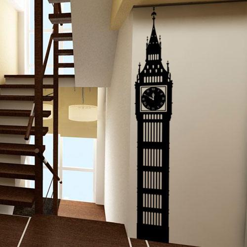 Интерьерная наклейка Big Ben