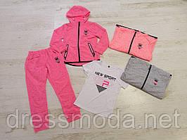 Спортивний костюм трійка для дівчаток Seagull 8-16 років