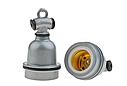 Патрон метало-керамический для лампы обогрева, фото 2