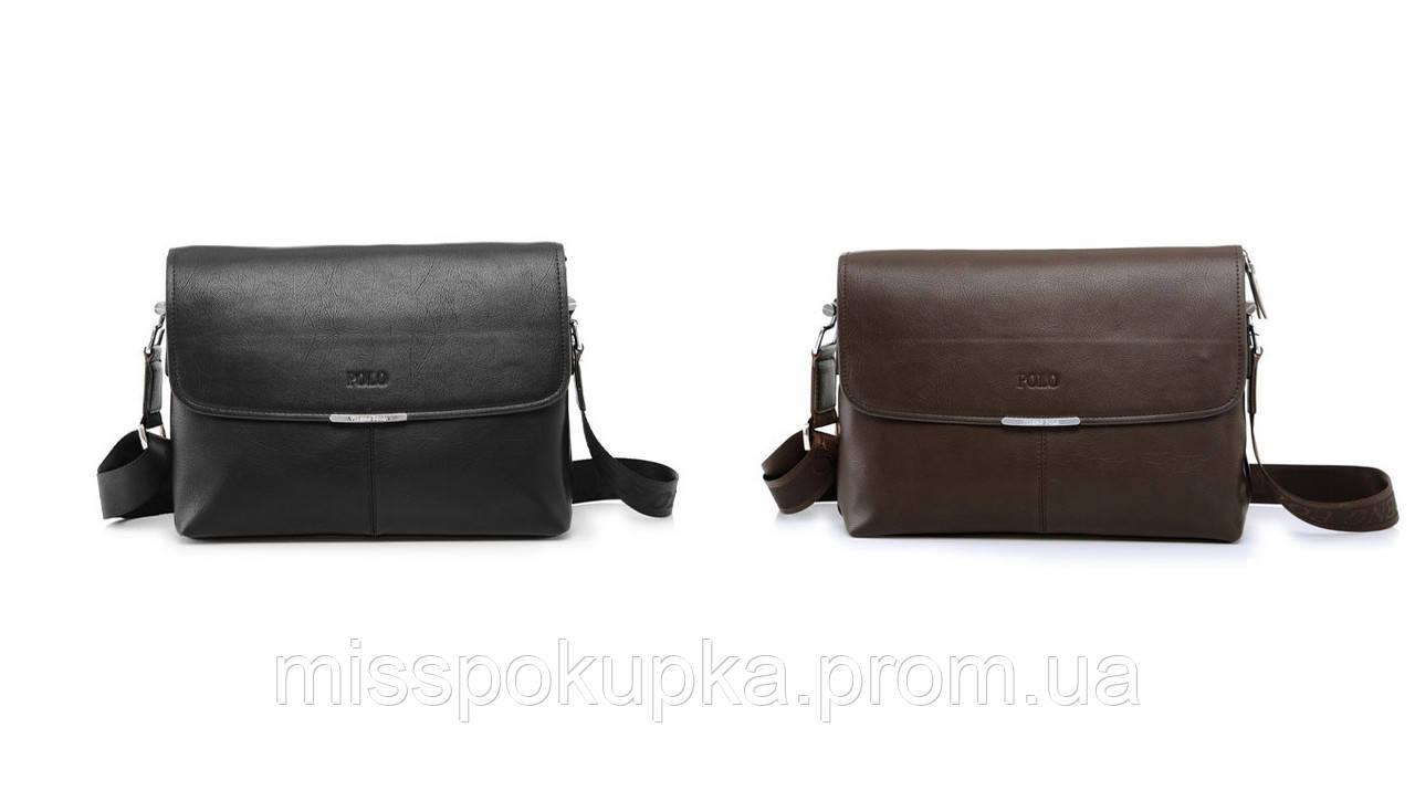 302ffbc55d50 Мужская кожаная сумка портфель Polo ELEGANT под А4: продажа, цена в ...