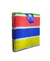 Пляжный коврик-сумка  Coverbag М разноцветный
