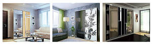Комплектация шкафов и прайс на шкафы-купе серии Классик от Luxe Studio