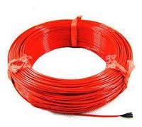 Карбоновый нагревательный кабель 33Ом. (красный, белый)