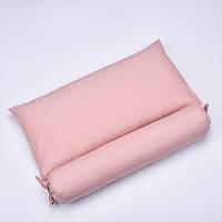 Подушка с валиком с гречихой и лавандой, фото 2