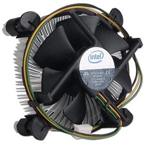 Кулер и система охлаждения для процессора INTEL 775,1155 coket с радиатором