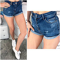 0791-02 Arox (25-30, 6 ед.) шорты джинсовые женские стрейчевые, фото 1