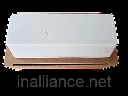 Паста полировальная для стали, нержавеющей стали, нержавейки, алюминия; твердая, белая, Tyrolit T741347