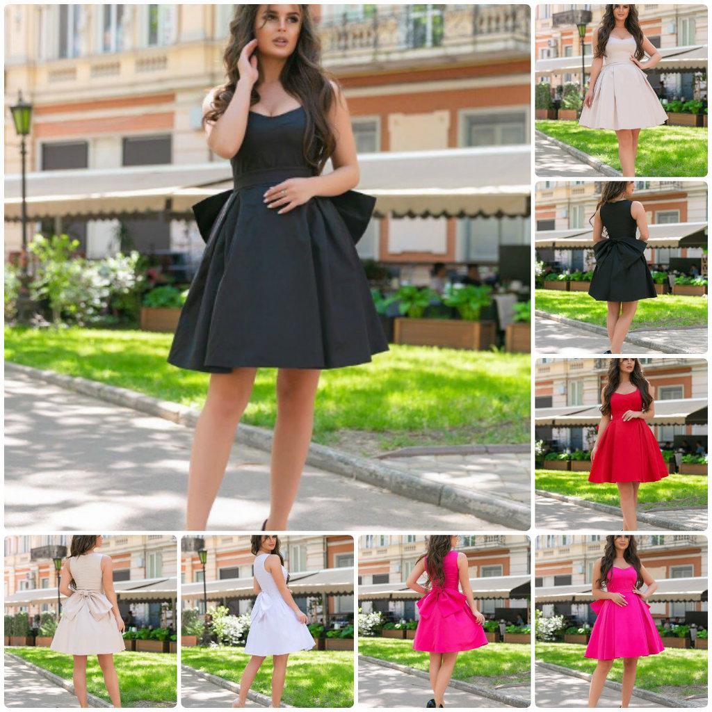 Милое платье сарафан Бант с фатиновым подъюбником / пышная юбка / бант