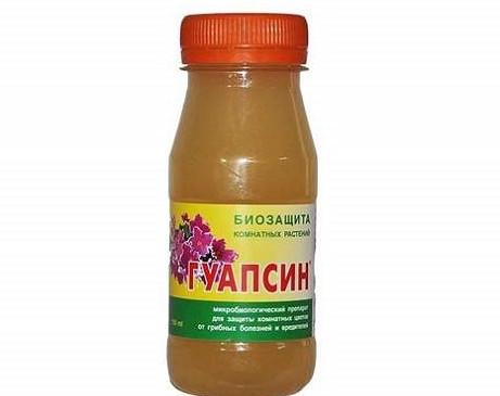 Гуапсин - микробиологический препарат, 150 мл инсектофунгицидный препарат для борьбы с вредителями и болезнями