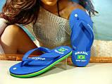 Сланцы женские Super Gear (BRAZIL) синие 36 р., фото 3