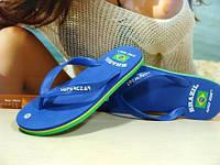 Сланцы женские Super Gear (BRAZIL) синие 39 р., фото 1