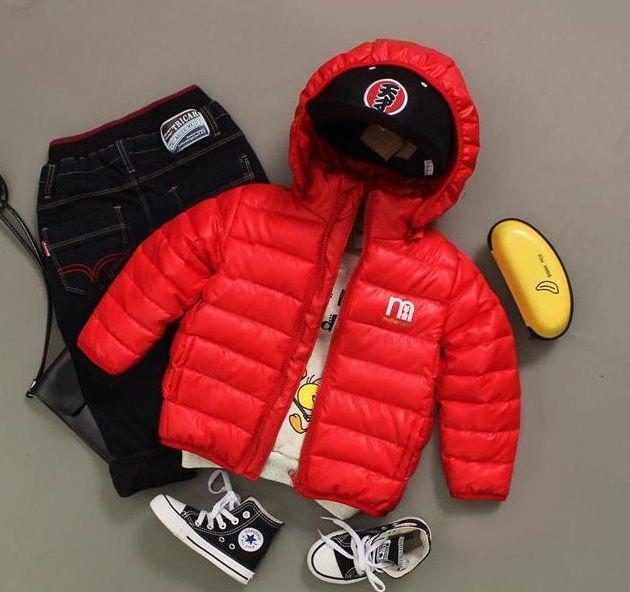 Куртка дитяча весна-осінь червона - Lileya Shop в Виннице 0a59af303df7e