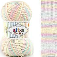 Пряжа для ручного вязания Alize BABY BEST BATIK (беби бест батик) акрил антипиллинг  6655