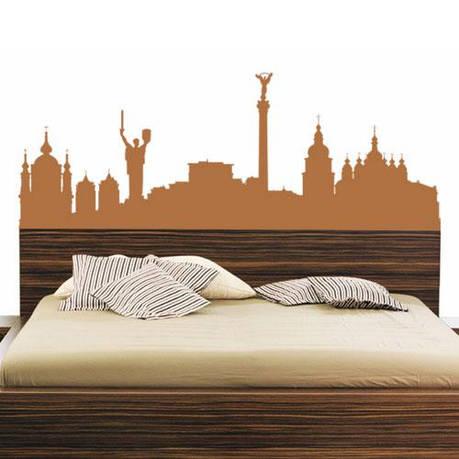 Интерьерная наклейка Kyiv City, фото 2
