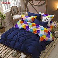 Комплект постельного белья YIFENG цвет синий