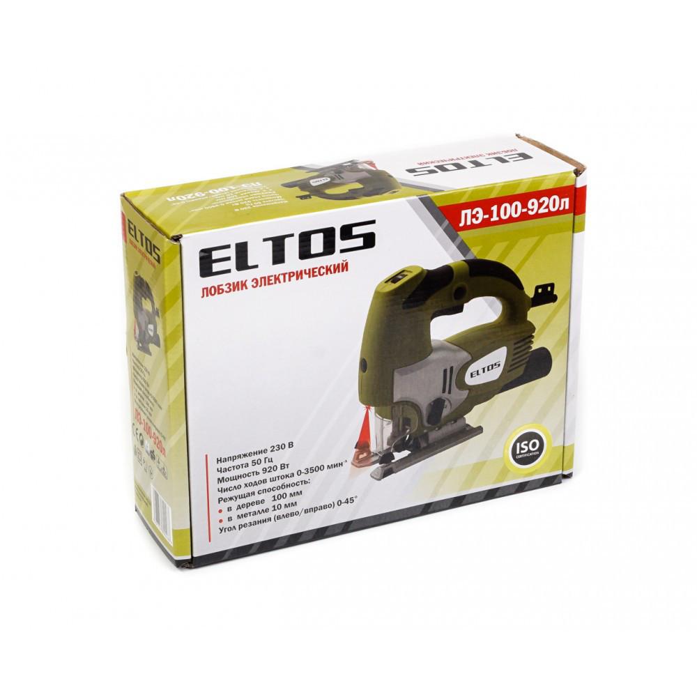 Электрический лобзик Eltos ЛЭ-100-920Л