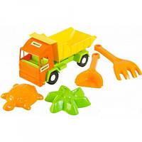 Игрушечный грузовик Mini Truck с набором для песка, 5 элементов