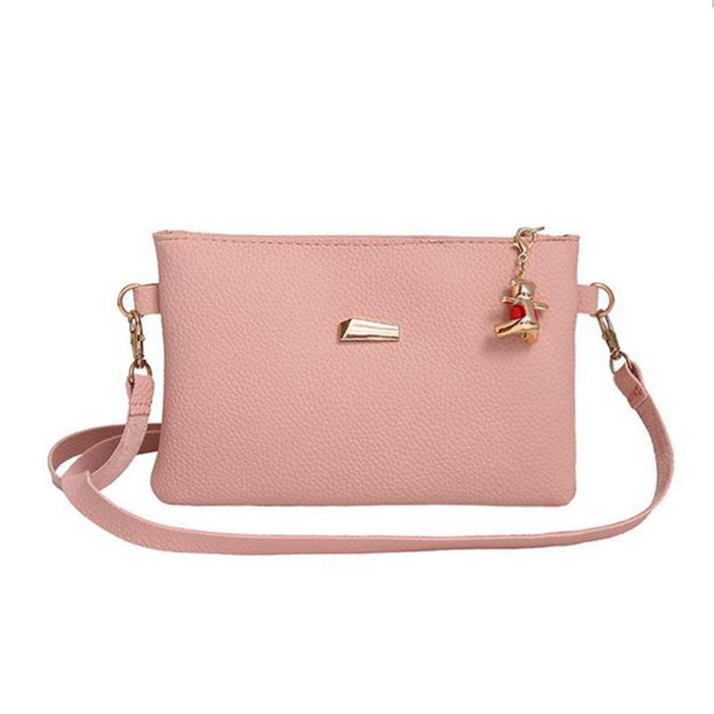 Жіноча сумочка рожевого кольору