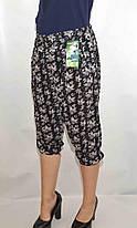 Бриджи женские с карманами L - 6 XL, фото 3