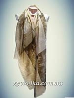 Лёгкий Турецкие палантин Клетка, капучино