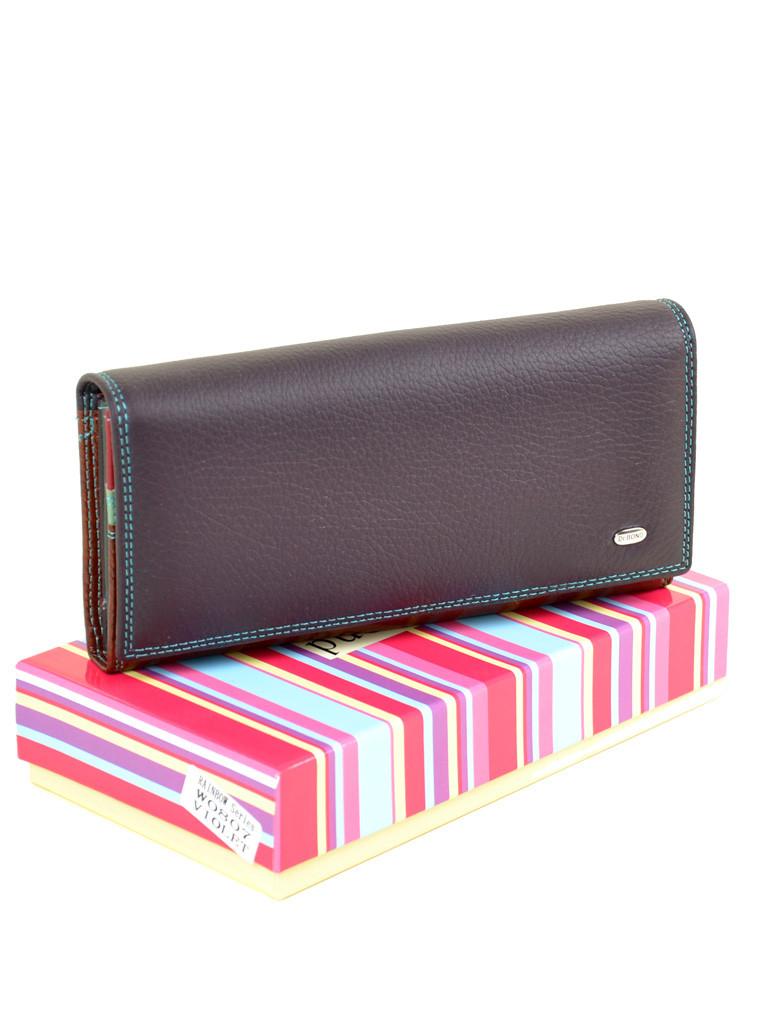 Большой кожаный кошелек Rainbow W0807 violet, фото 1