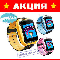 Детские умные смарт часы телефон с GPS трекером Q528 (Q900)! Все цвета!