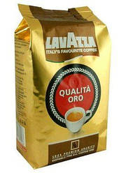 Кофе зерновой Lavazza Qualita Oro (Лавацца Оро) 1 кг.