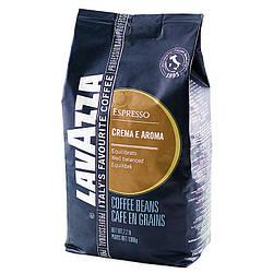 Кофе зерновой Lavazza Crema e Aroma Espresso (Лавацца  Крема Арома Еспрессо) 1 кг