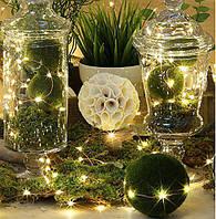 Новогодние освещение и декор