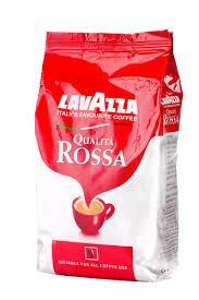 Кофе зерновой Lavazza Qualita Rossa(Лавацца Росса) 1 кг.