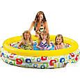 Детский надувной бассейн Intex «Геометрия» 58449 (168*38 см), фото 2