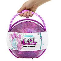 Большой ЛОЛ фиолетовый, L.O.L. Pearl Surprise, MGA! Оригинал из США!