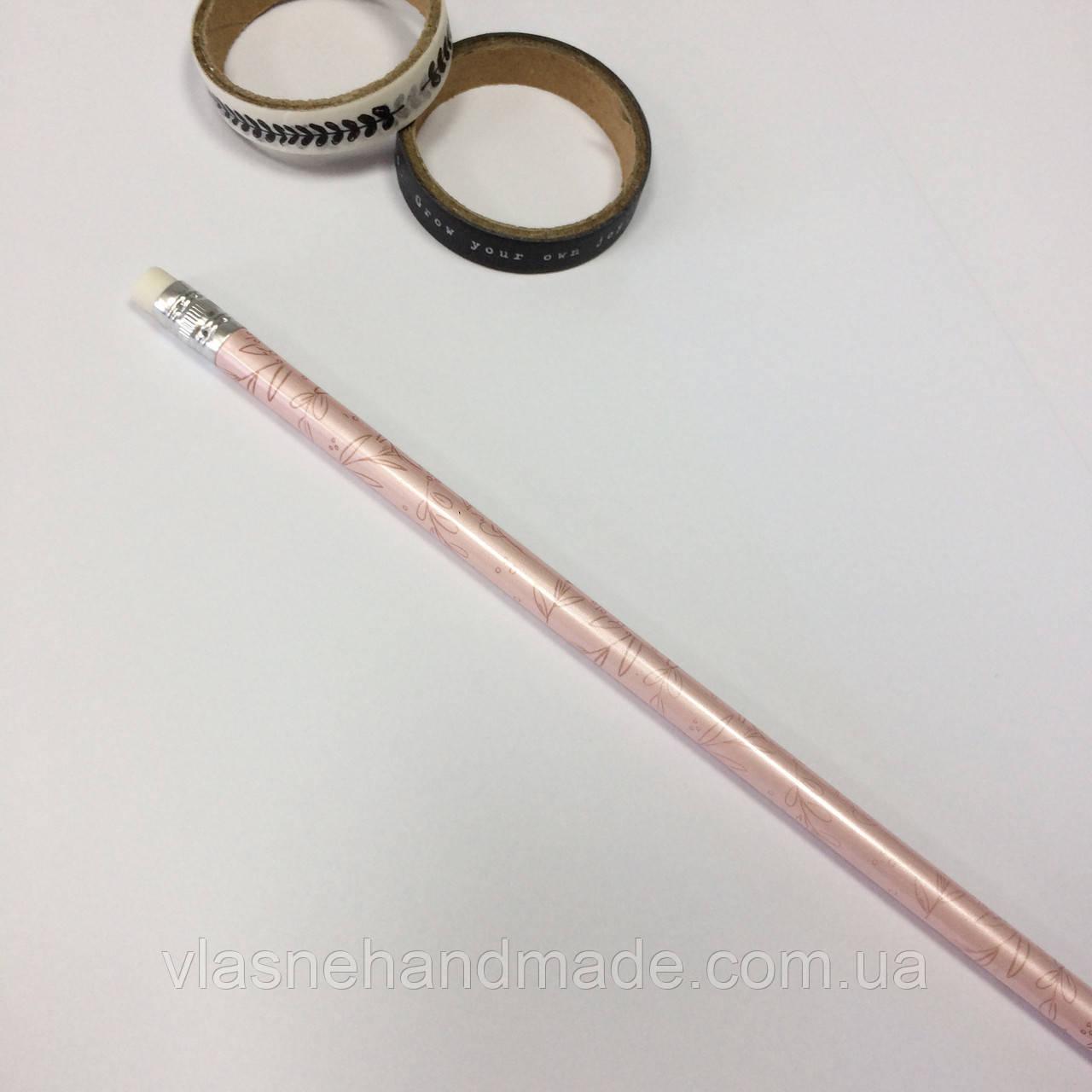Олівець (карандаш) простий. Зовні з перламутровим ефектом.