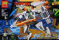 """Конструктор Lele 31081 Ninja (Аналог Lego Ninjago) """"Самолет и робот"""" 254 детали"""