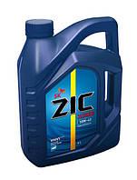 Полусинтетическое моторное масло ZIC X5000 10W-40 DIESEL 6 л.
